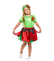 Карнавальный костюм  Мака для девочки ,купить оптом и розницу, MK 1408 KRKD-0031