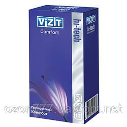 Презервативы комфорт VIZIT HI-TECH Comfort 12 шт.