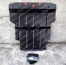 Защита моторного отсека Шкода Суперб 1 объем 1.8 (стальная защита поддона картера Skoda Superb 1)