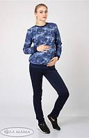 Теплые брюки-лосины для беременных Sinta