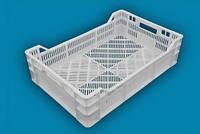 Ящик пластмассовый 600*400*160/120 перфорированный