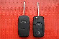 Ключ AUDI выкидной 2 кнопки 433Mhz id48 4DO 837 231 R
