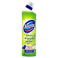 Гель для миття унітазу Domestos TOTAL HYGIENE WC GEL Lime fresh 700 мл