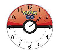 Часы настенные Покемон Го логотип