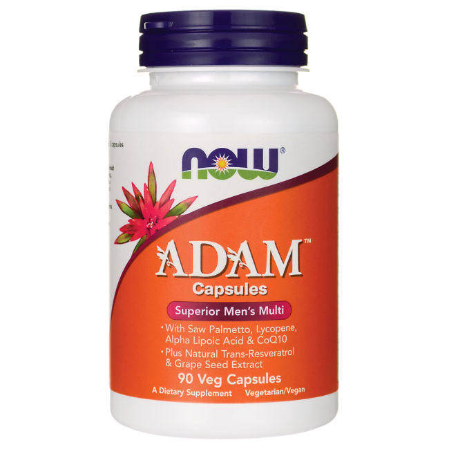 NOW - ADAM Superior Mens Multi (90 caps) / Мульти-витаминный комплекс для мужчин АДАМ