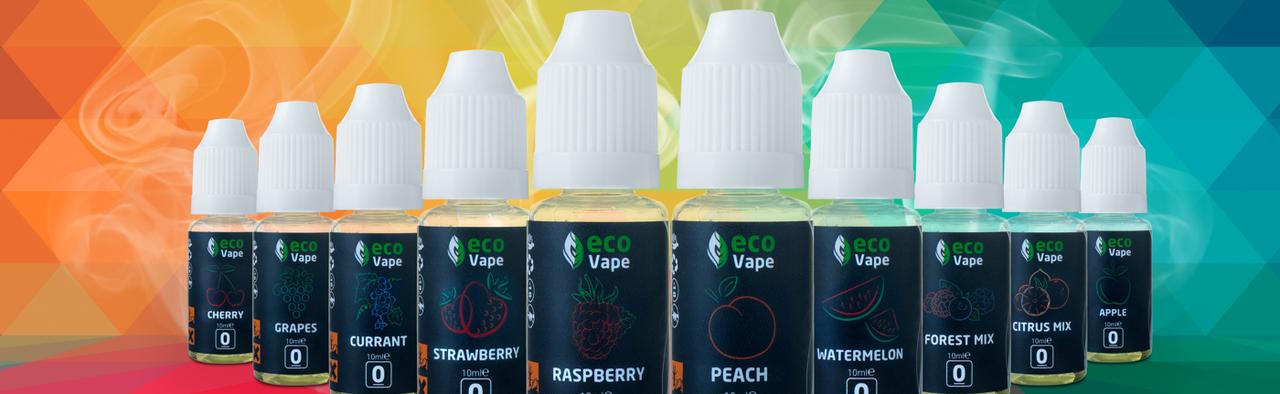 """Жидкость для электронных сигарет """"ECO VAN VAPE"""" 10мл"""