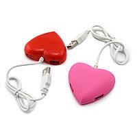 Хаб USB Сердечко