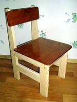 Детский стульчик тонированный