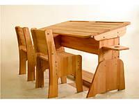 Парта на 2 места С886 +2 стула
