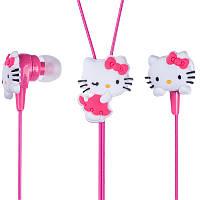 Наушники для телефона и mp3 плеера Hello Kitty