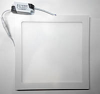 Светодиодная LED панель СП 24W квадрат, фото 1