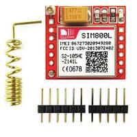 Модуль GSM GPRS SIM800L с разъёмом для MicroSIM карты. UART TTL  последовательный порт.