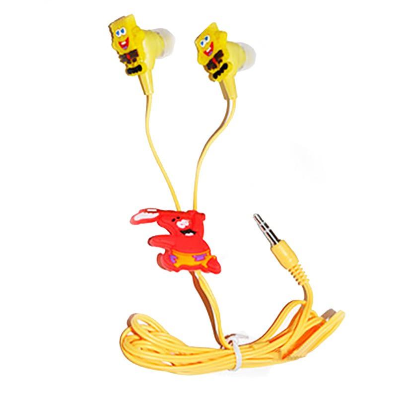 Наушники для телефона и mp3 плеера SpongeBob