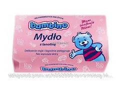 Детское мыло Bambino Mydlo z Lanolina 90г.