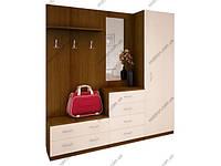"""Мебель для прихожих Отдельные предметы мебели для прихожей Готовы стенки для прихожей Ника """"Стандарт"""" 7 (Т)"""