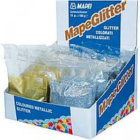"""Металлизированный наполнитель для затирки """"Mapeglitter"""" Mapei, 0.1кг"""