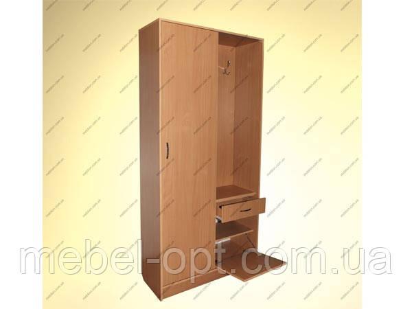 """Мебель для прихожих Отдельные предметы мебели для прихожей Готовы стенки для прихожей Ника """"Эконом"""" 2-0б (Т)"""