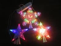 Новогодняя светящаяся звезда на елку