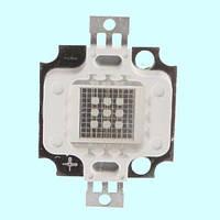 Светодиодная матрица LED 10Вт 620-630nm, красный, фото 1