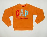 Джемпер для мальчика GAP Очень теплый Оранжевый Рост 86-128 см