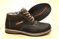 Зимние кожаные ботинки Columbia