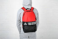 Рюкзак городской адидас (Adidas), красный