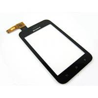 Сенсор (Touch screen) Sony ST23i Xperia mini black