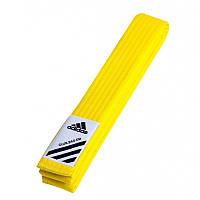 Пояс для кимоно Adidas Club Желтый (adiB220)