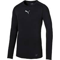 Термо-футболка с длинным рукавом Puma TB Trainingsshirt Herren 654612-03