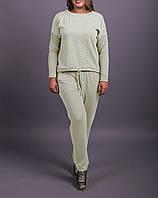 """Спортивный костюм для полных женщин """"Мулан Милк"""" до 70 размера"""