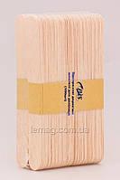 EZ Wax B.S. Шпатели одноразовые деревянные Суперпрочные, 100 шт.