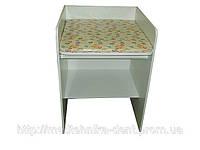 Столик пеленальный (для поликлиник, с мягким матрасом, покрытым медицинской цветной клеенкой) СП