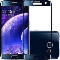 Стекло изогнутое для Samsung S6 edge G925 Blue