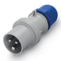 Вилка кабельная SCAME серии OPTIMA 16А код 213.1633