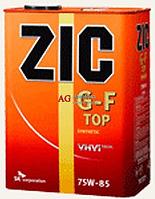 Масло трансмиссионное ZIC SK G-F TOP 75W-85, 4 л