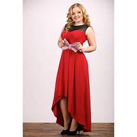 Женское Платье Бант красное (48-72)