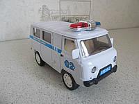 Машинка Уаз инерционная Полиция (16,2 х 7,3 х 9,2)
