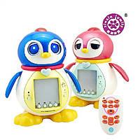 Развивающая игрушка, интерактивный пингвин Тиша с пультом управления