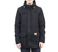 Куртка зимняя, парка, мужская, черная, зима - 25 градусов, очень теплая! Супер качество!
