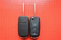 Ключ AUDI A8 выкидной 3 кнопки 433Mhz id46