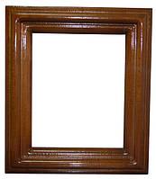 Деревянный киот (240х280х36) для иконы 160х200 - резьба по дереву, фото 1