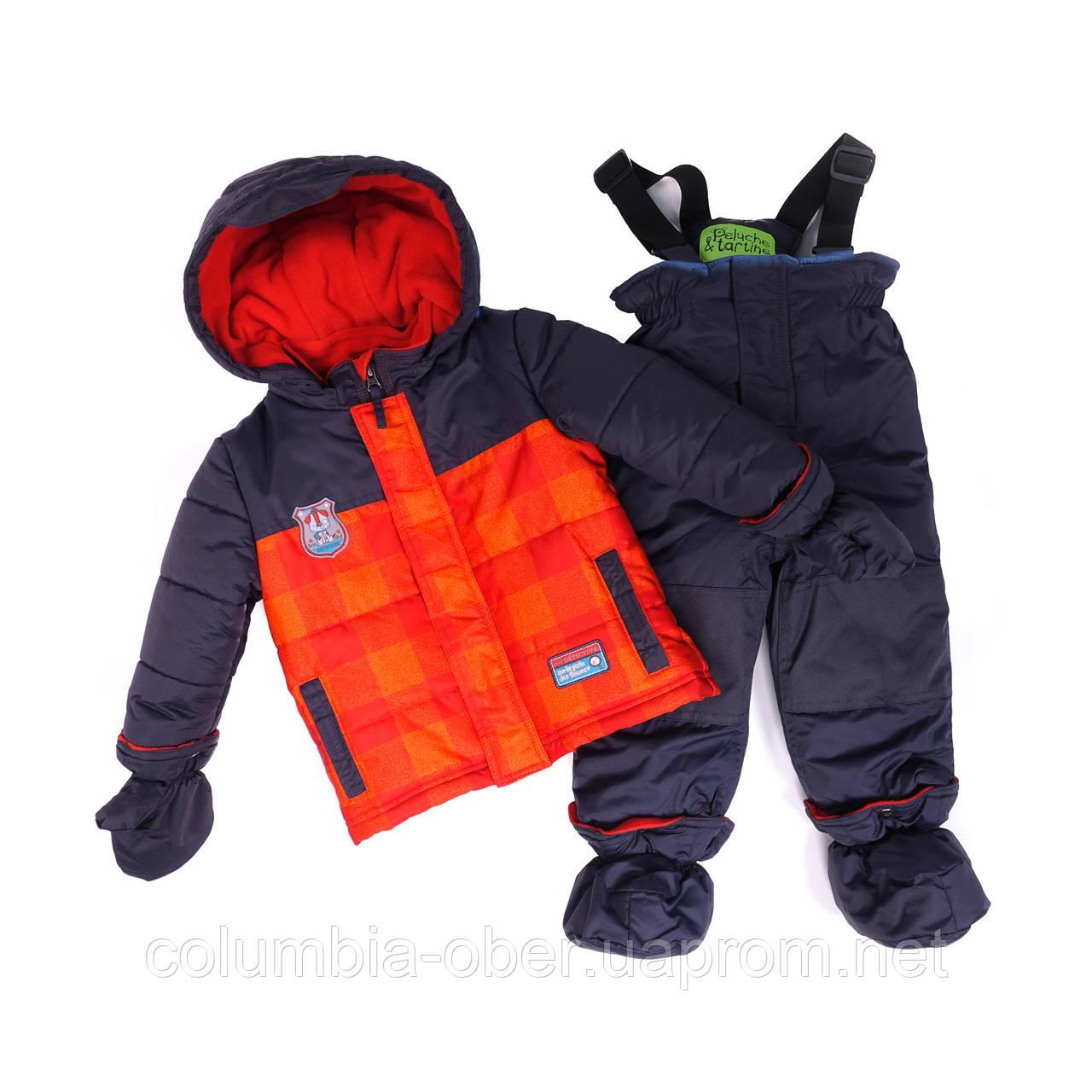 Зимний костюм для мальчика PELUCHE 23 BG M F16 Chili. Размеры 12 - 24 мес.