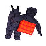 Зимний костюм для мальчика PELUCHE 23 BG M F16 Chili. Размеры 12 - 24 мес., фото 2