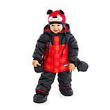 Зимний костюм для мальчика PELUCHE 23 BG M F16 Chili. Размеры 12 - 24 мес., фото 3