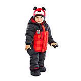 Зимний костюм для мальчика PELUCHE 23 BG M F16 Chili. Размеры 12 - 24 мес., фото 4