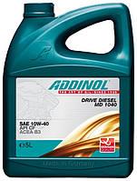 Масло моторное Addinol 10W-40 Drive Diesel MD 1040 5л