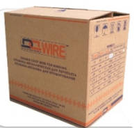 Мет. пружина в бобине DA art Wire 16.0 (5/8) белый, черный (12000 петель) механика