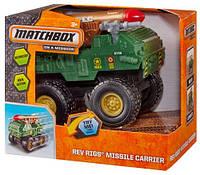 Игрушка моторизованный военный грузовик Matchbox Rev Rigs Adventure Truck