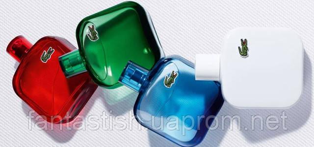Мужская туалетная вода Lacoste L.12.12. Red for men (купить мужские духи лакост, лакоста-лучшая цена) AAT - фото 4