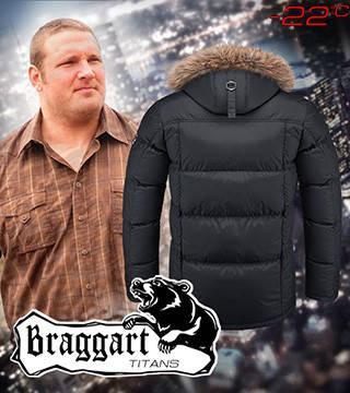 Куртки больших размеров черная с капюшоном, фото 2